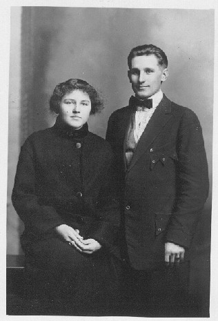 Robert Stolpmann and Pauline Roggenbuck
