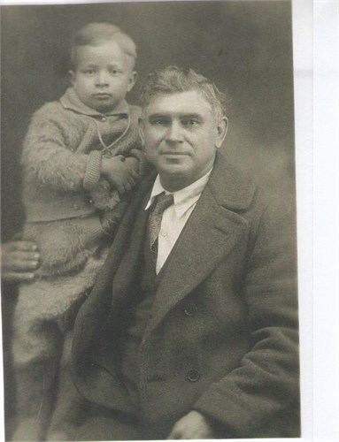 Francis and his son Paul